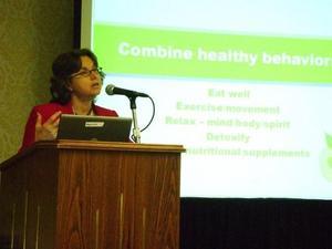 Ann F talks about Healthy behaviors