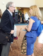 Dr Kelly Turner meets Dr Ralph Moss (at Annie Appleseed Project conference