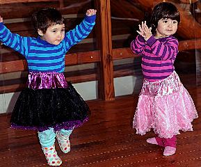Girls dancing Feb11 2